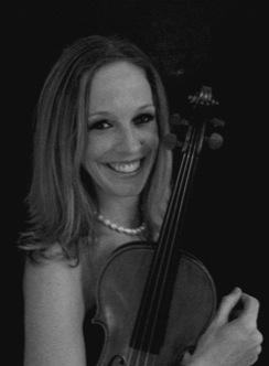 Christine Dunaway, violin teacher, Brisbane